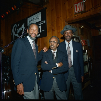 "Heath Brothers: Percy Heath, Jimmy Heath, Albert ""Tootie"" Heath"
