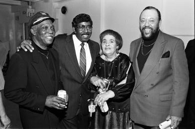 "Jack McDuff, Jimmy McGriff, Gloria Coleman, Charles ""The Mighty Burner"" Earland"