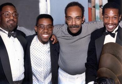"Carl Allen, Marvin ""Smitty"" Smith, Arthur Taylor and Kenny Washington"