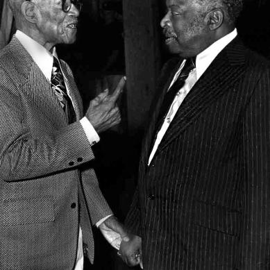 "Hubert ""Eubie"" Blake and William ""Count"" Basie"