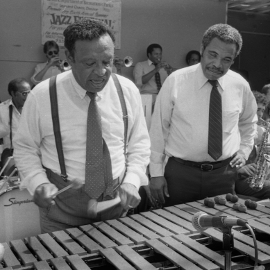 Lionel Hampton & Mayor Kenneth A. Gibson (Newark, NJ)
