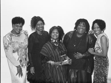 Newark Jazz Divas: Madame Pat Tandy, (Name Unknown), Rasheemah, Ronnell Bey, Shirley Marshall