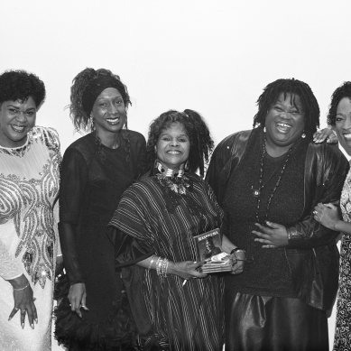 Newark Jazz Divas: Madame Pat Tandy, (Name Unknown), Rasheemah, Ronnell Bey, Shirley Marshall