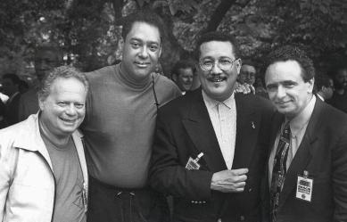 Red Rodney, Jon Faddis, Paquito D'Rivera and Claudio Roditi