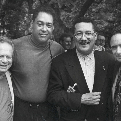 Red Rodney, Jon Faddis, Paquito D'Rivera and Claudio Roditi