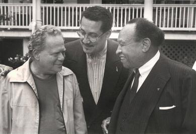 Red Rodney, Paquito D'Rivera and Lionel Hampton