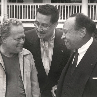 Red Rodney, Paquito D'Rivera and Lionel Hampton