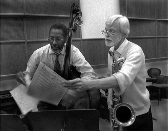 Ron Carter and Jerry Mulligan