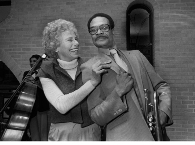 Liz Del Tufo and Woody Shaw