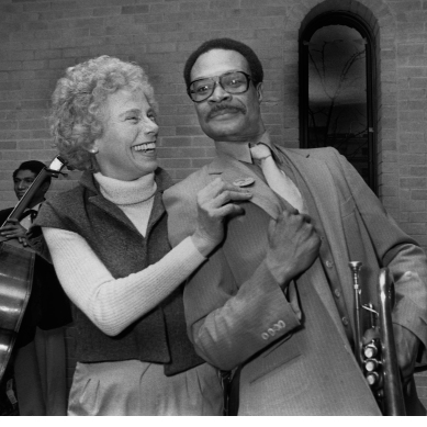 Liz Del Tufo and Woody Shaw