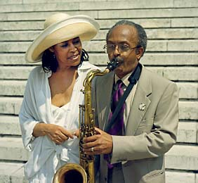 Abbey Lincoln and Jimmy Heath