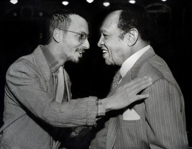 Jay Hoggard and Lionel Hampton
