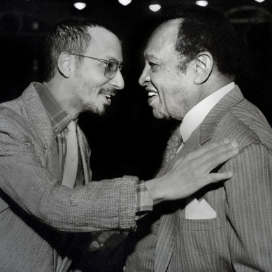 Jay Hoggard and Lionel Hampton